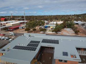 Solar Panels at Cunderdin Health Centre