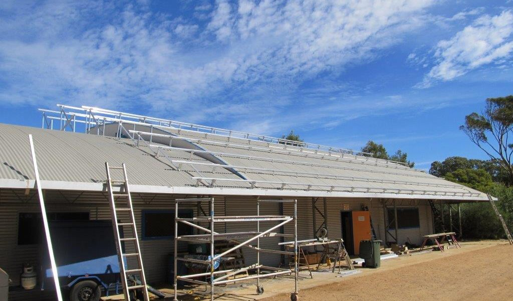 Solar Panels at Strathalbyn Christian College